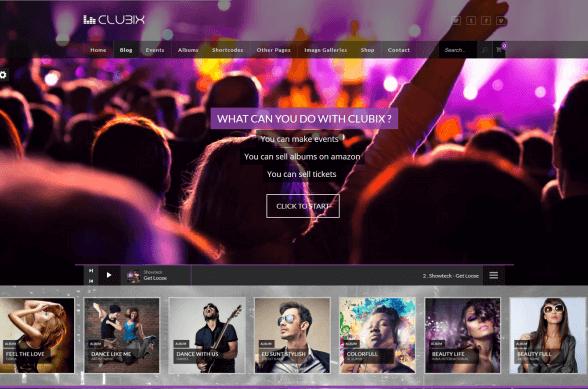 Chức năng của website nghe nhạc trực tuyến.