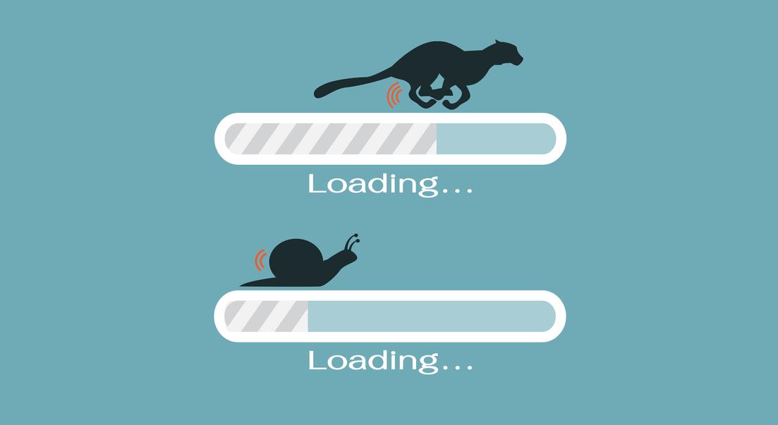 Tốc độ load website nhanh