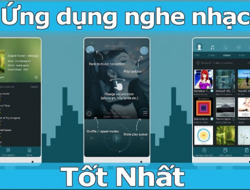 Top 12 ứng dụng nghe nhạc tốt nhất trên Android và IOS