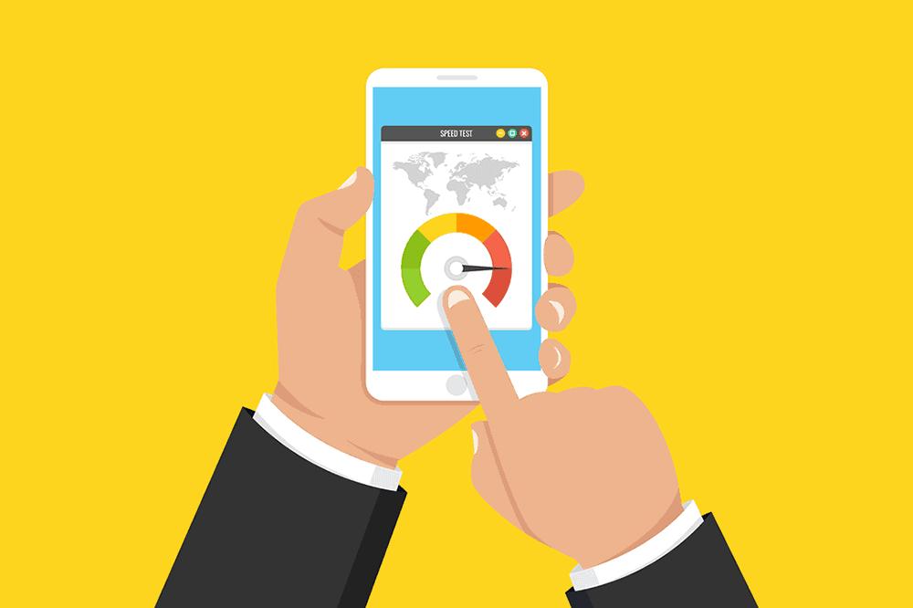 Tốc độ tải trang rất ảnh hưởng đến mobile seo