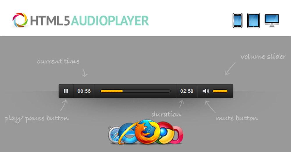 Cách chèn audio vào trong website