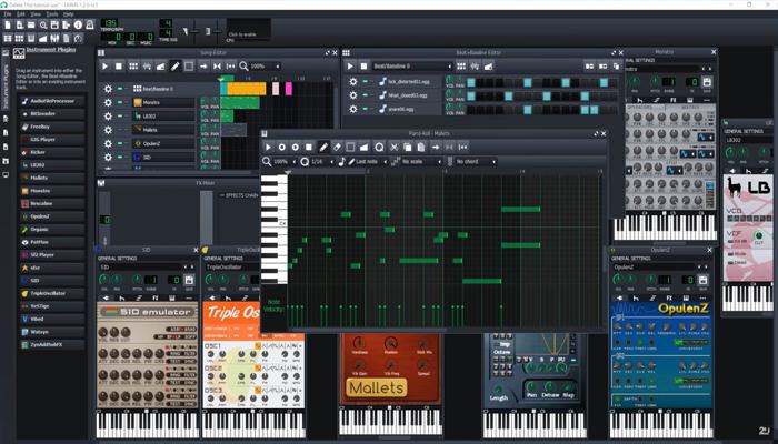 Phần mềm sáng tác nhạc trên máy tính - LMMS